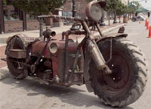 Si po ju duket kjo traktoçikletë?