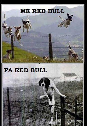 Red Bull te ben me krahe...