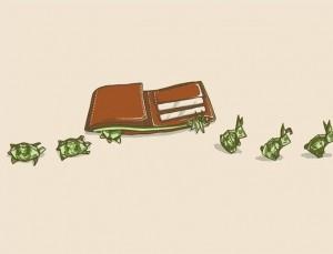 Paraja vjen si breshke dhe iken si lepur