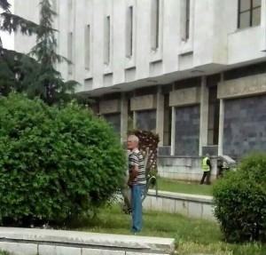 Shume aktivitet ka Muzeu Kombetar Tiranes