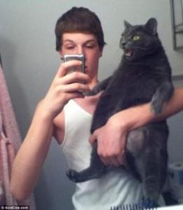 I shqetësuari macoku...