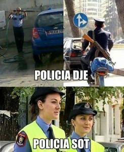 Polici dje dhe sot...